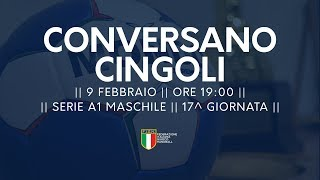 Serie A1M [17^]: Conversano - Cingoli 35-18