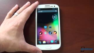 CyanogenMod 10 Jelly Bean on the Samsung Galaxy S III