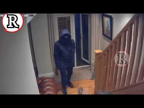 Heroic business man fights off four armed robbers at his home