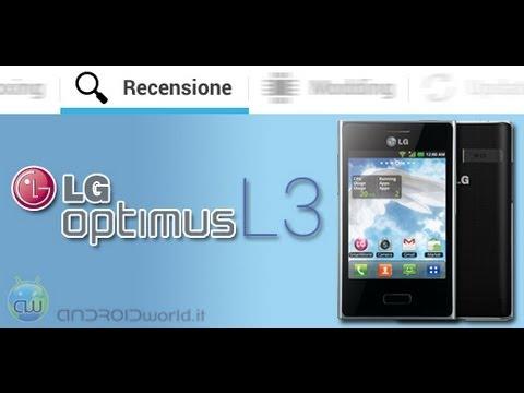 LG Optimus L3. recensione in italiano by AndroidWorld.it