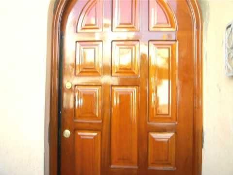puerta principal entablerada youtube