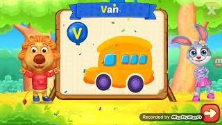 Play learn the letters and words English for kids | إلعب وتعلم الحروف والكلمات الإنجليزية للأطفال