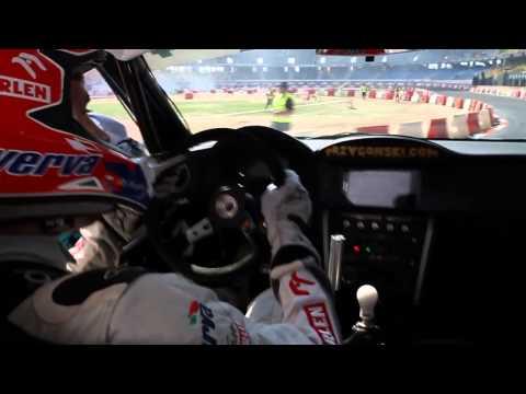 Kuba Przygoński Drift Masters Grand Prix Toruń 2014 trening