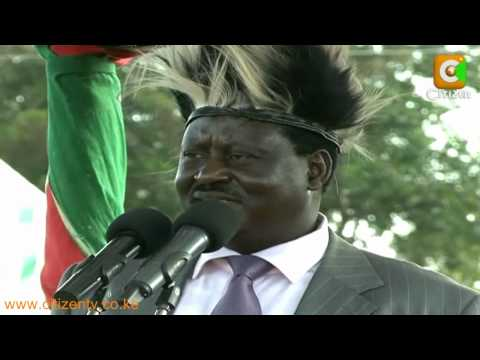 Raila in Luanda