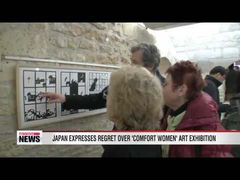 Japan expresses regret over 'comfort women' art exhibition in France