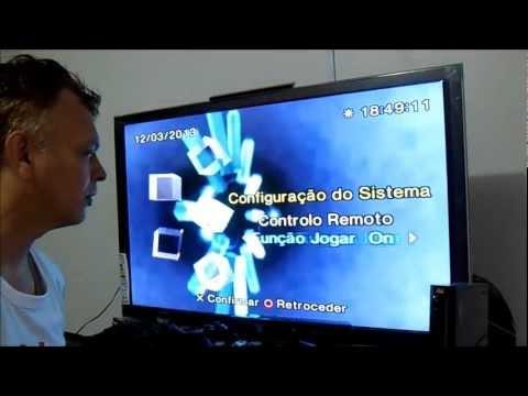 Playstation 2: Configuração pelo System Menu.