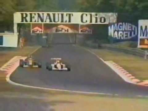The first head to head battle between Michael Schumacher and Ayrton Senna. In his 2nd Formula One race, Schumacher tries to hold off Senna at Monza.