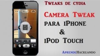 Camera Tweak para iPhone y iPod Touch