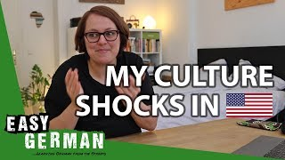 GERMAN IN THE 🇺🇸US: My 6 Culture Shocks | Easy German 277