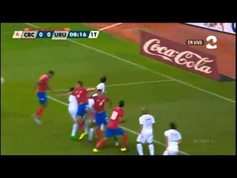Costa Rica 1-0 Uruguay (Amistoso, 08/09/2015)