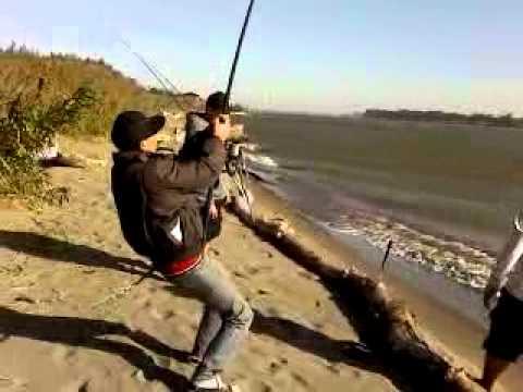 Hmong Sturgeon Fishing 2011
