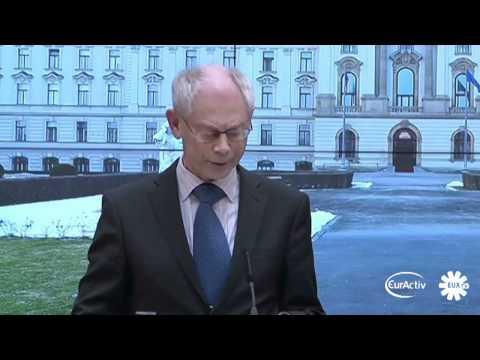 EU's Libya role 'must not be patronising', says Van Rompuy
