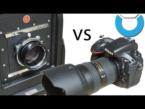 Nikon D810 vs 4x5 Large Format