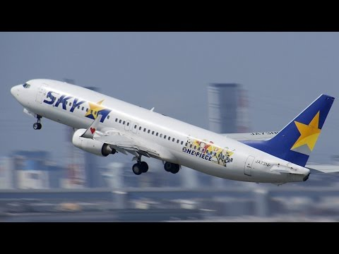 "[special livery ""ONE PIECE""] Skymark Airlines Boeing 737-86N [JA73NF]  (スカイマーク)"