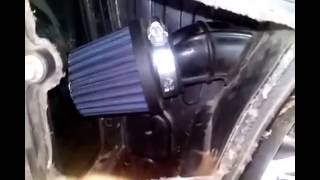 Pulsar 150 sound with k&n air filter.