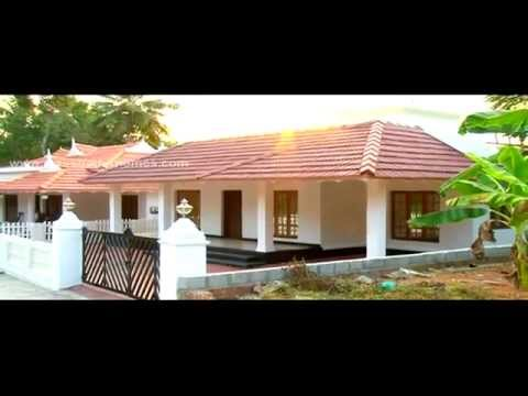 Kerala house Model - Low cost beautiful Kerala home design - YouTube