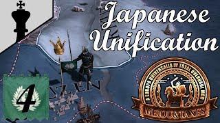 EU4 - Date Unifies Japan! MEIOU and Taxes - Part 4