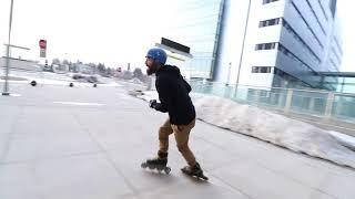 Inline Skating on Wizard Skates