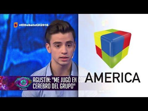 Agustín analizó su salida de GH y reveló el por qué del huevazo a Leandro