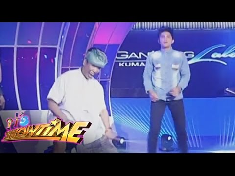 Vice at Gandang Lalaki contestant, nag-showdown sa sayawan