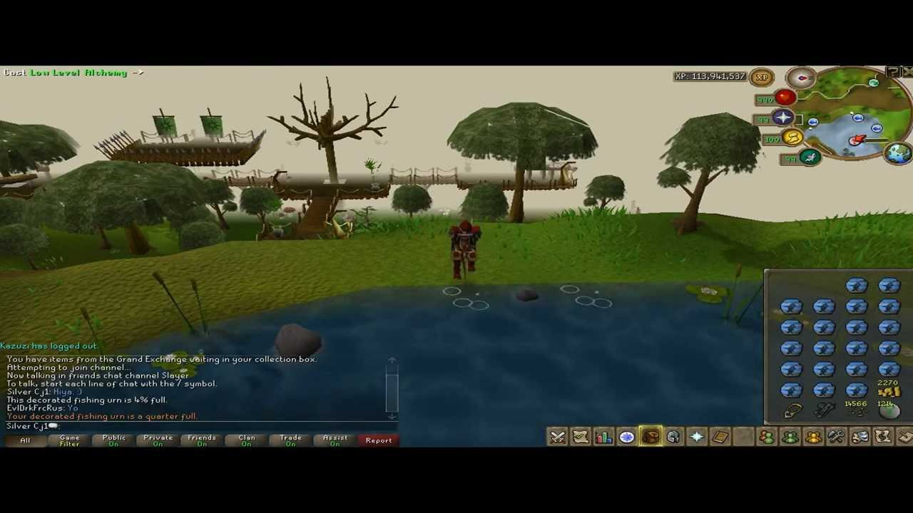 xp hr barbarian fishing pure