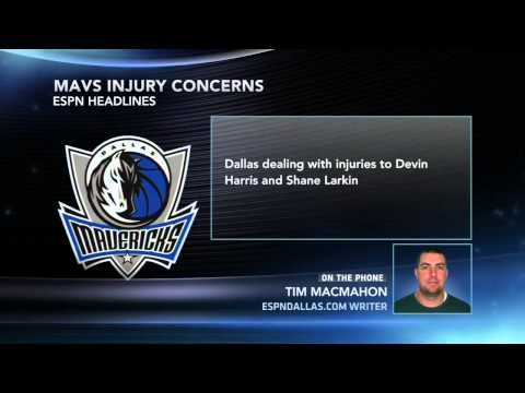 Mavs Dealing With Injuries To Two Guards