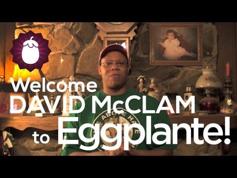 Welcome David McClam (Cena's Corner) to Eggplante!
