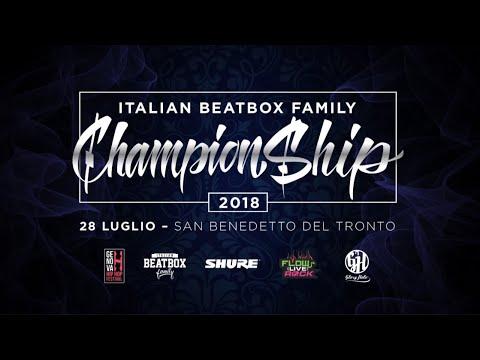 Italian Beatbox Championship 2018  Battles & Shows