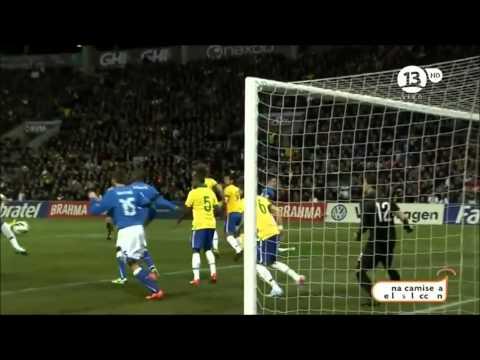 Mejores jugadas y goles del Amistoso Internacional entre Italia vs Brasil
