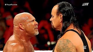GOLDBERG VS THE UNDERTAKER WRESTLEMANIA 34 2018