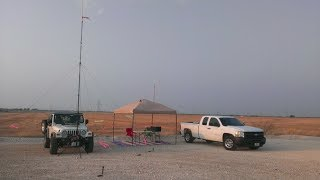 DBJ-1 HAM Antenna by Ed Fong WB6IQN, Dual Band Wire J Pole,  Part 2 -- AF5DN
