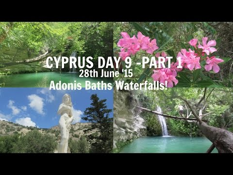 CYPRUS DAY 9 Part 1: Jumping into Waterfalls! // Velvet Hearts ♡