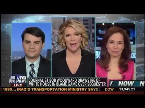 Megyn Kelly Panel Fights on White House Trashing Bob Woodward Due To His Account Of The Sequester
