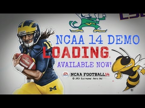 NCAA 14 Demo Available Now! (PS3 & Xbox 360)