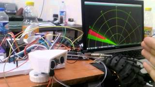 RASPBERRYPI-ARDUINO-RC-CAR RADAR