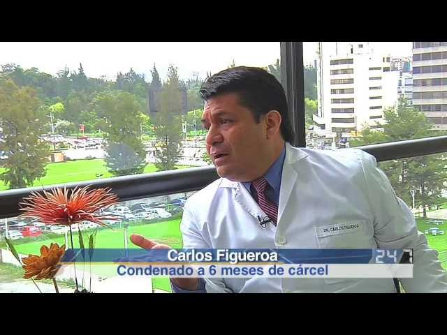Carlos Figueroa - Sentenciado junto a Clever Jimnez