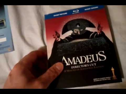 Amadeus Director's Cut (1984) Digibook Blu Ray Review And Unboxing