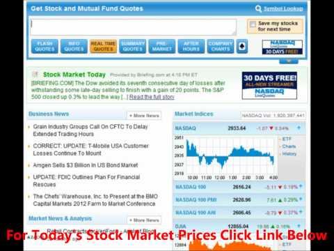 Stock Market Prices
