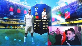 99 TOTY RONALDO IN A PACK PRANK - FIFA 17 TOTY PACK OPENING