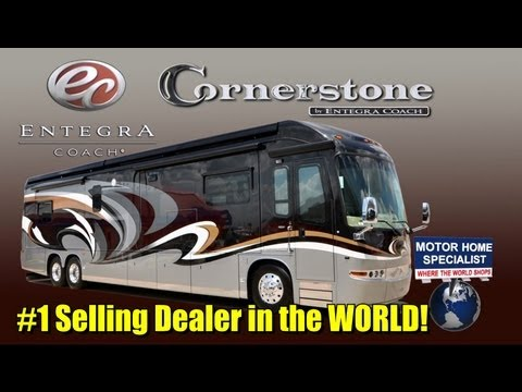 2013 Entegra Coach Cornerstone Luxury RV for Sale at Motor Home Specialist (Stk.#5293)