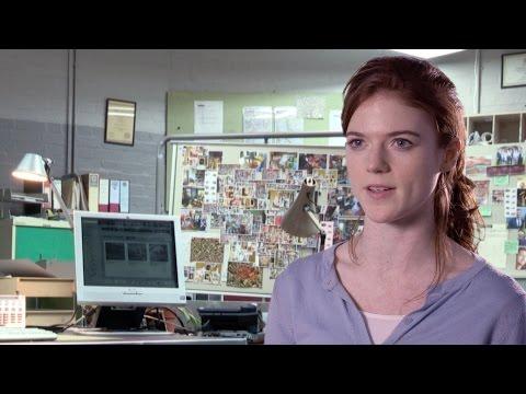 Rose Leslie unwraps Emma Lane - Luther: Series 4 - BBC One