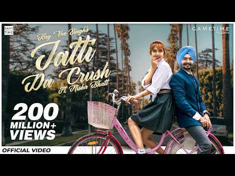 Download Lagu  Jatti Da Crush | Kay Vee Singh | Nisha Bhatt | Gametime | Cheetah | Latest new Punjabi songs 2019 Mp3 Free