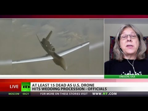 Drone Strike Kills 15 Wedding-goers Instead Of Al-qaeda Convoy In Yemen video