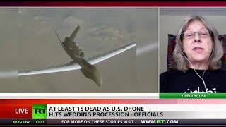 Drone strike kills 15 wedding-goers instead of Al-Qaeda convoy in Yemen  12/12/13