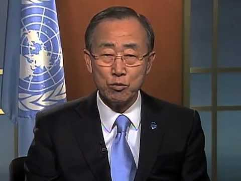 "UN Secretary-General message ""World Water Day 2013"""
