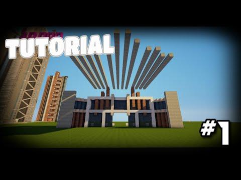 Minecraft: Como hacer un Cine Moderno! Part.1 - Tutoriales de Construcción!