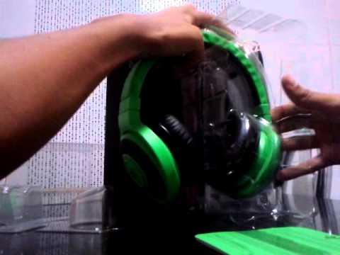 Unboxing Razer Kraken Pro (PT-BR)