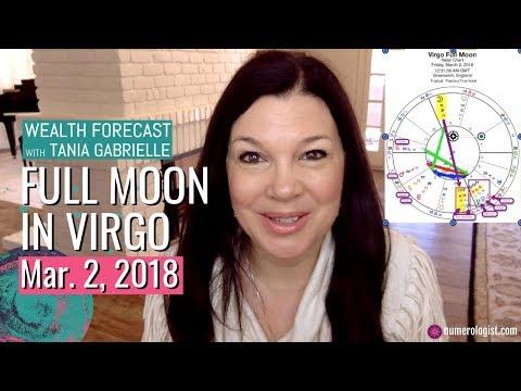 Virgo Full Moon Wealth Forecast = 11:11 Portal Opens! (Mar 2, 2018)
