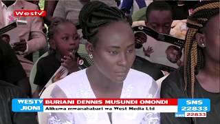 Mazishi ya Mwanahabari Dennis Omondi