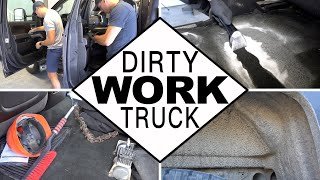 Dirty Truck Detail | Deep Cleaning a Dirty Work Truck!
